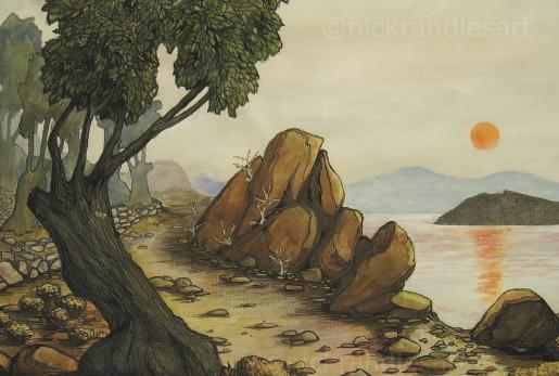 Lesvos, Olive Tree