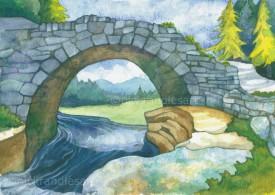 Pont y Llyn Ddu