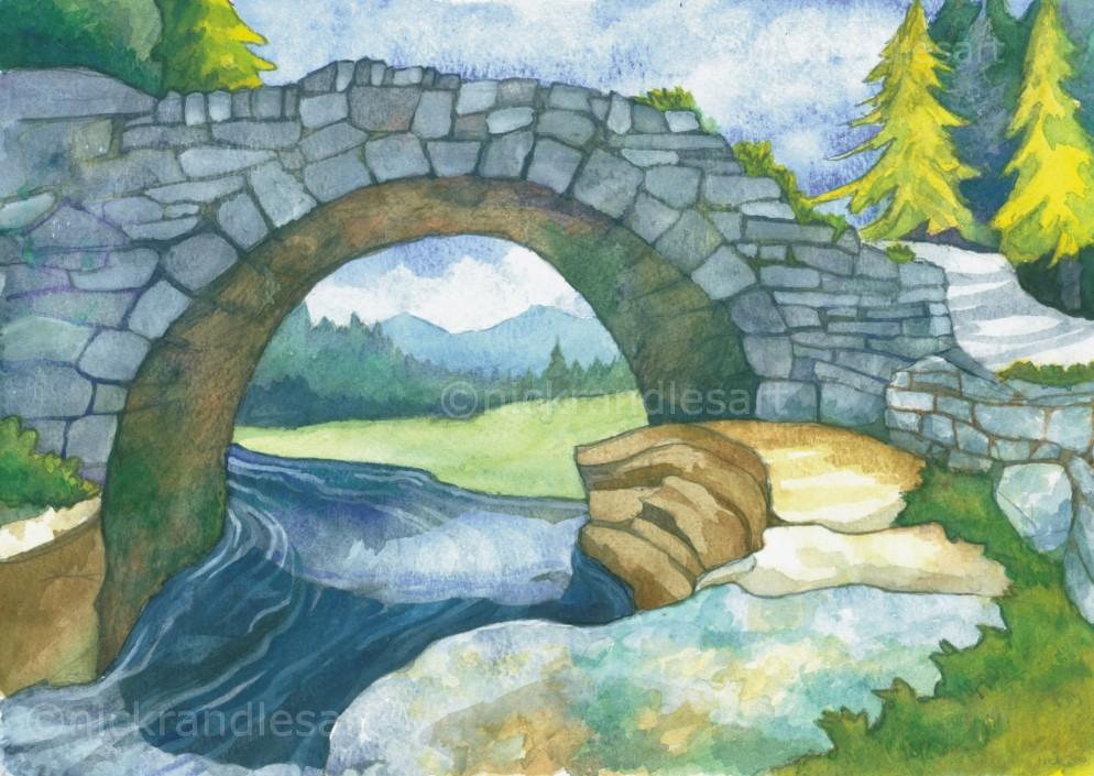 Pont-y-Llyn-Ddu nickrandlesart